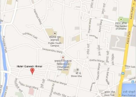 Hotel Ganesh Himal, Bhurungkhel Road, Katmandú, Nepal - Google Maps