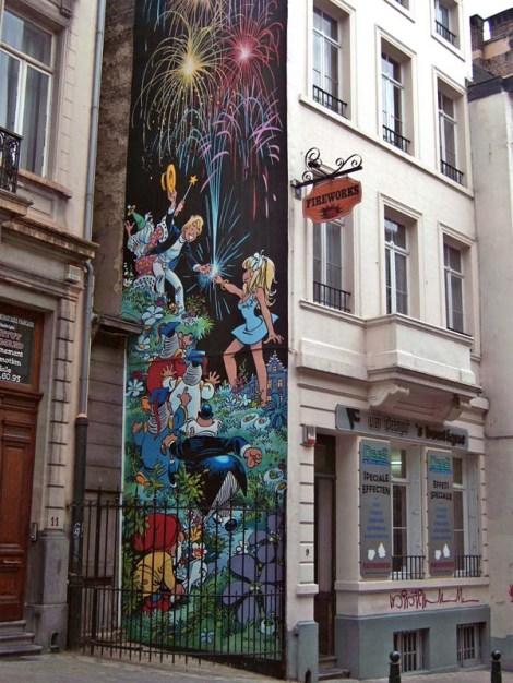 Ruta del Comic - Bruselas
