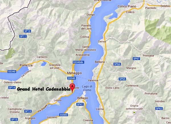Mapa Lago Di Como.Italia Grand Hotel Cadenabbia En El Lago Di Como Mi Mundo