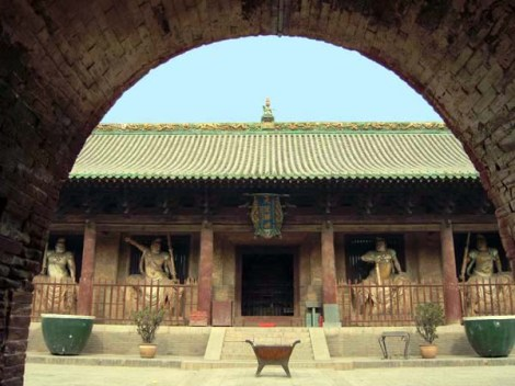 Templo de Shuanglin - Pingyao