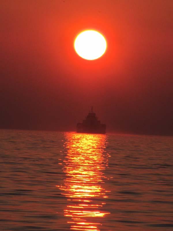 Puesta de sol en zadar mi mundo viajero for Centro turistico puesta del sol