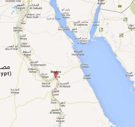 Dendera, Qena, Egipto - Google Maps