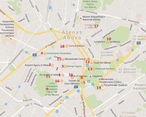 atenas maps